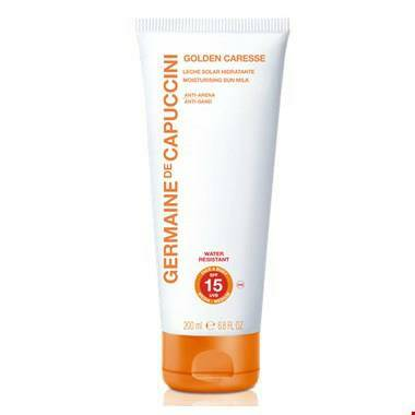 Golden Caresse Moisturising Sun Milk- Anti Sand SPF 15