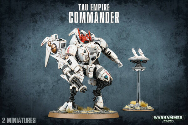 Warhammer 40K - Tau Empire - Commander (56-22)