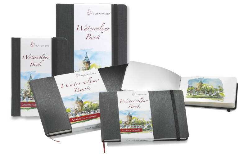 Hahnemühle Watercolour Book 200 gsm - fine grained surface