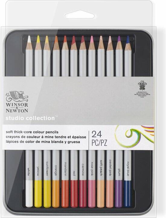 Studio Collection Colour Pencils, Blik 24