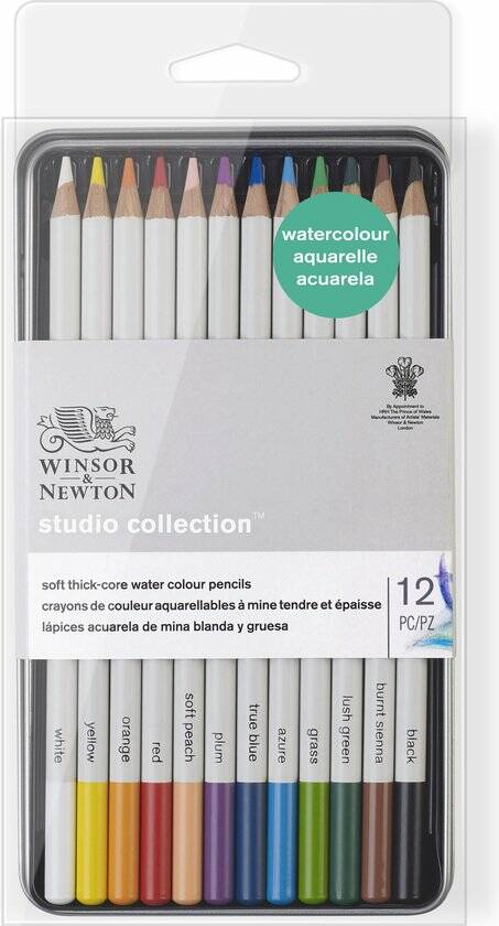 Studio Collection Watercolour Pencils, Blik 12