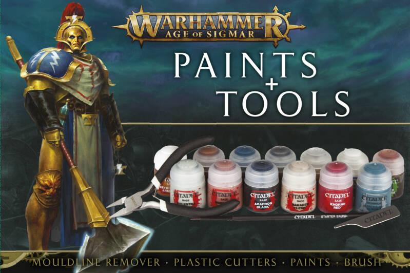 Warhammer Age of Sigmar - Paints +Tools (80-17-60)
