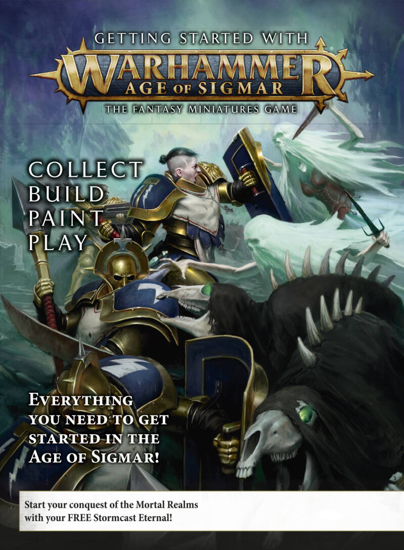 Warhammer Getting Started with Age of Sigmar (ENG) (80-16-60)