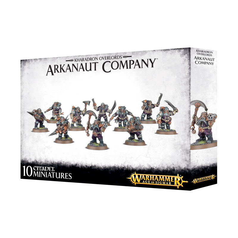 Warhammer Age of Sigmar - Kharadron Overlords - Arkanaut Company (84-35)