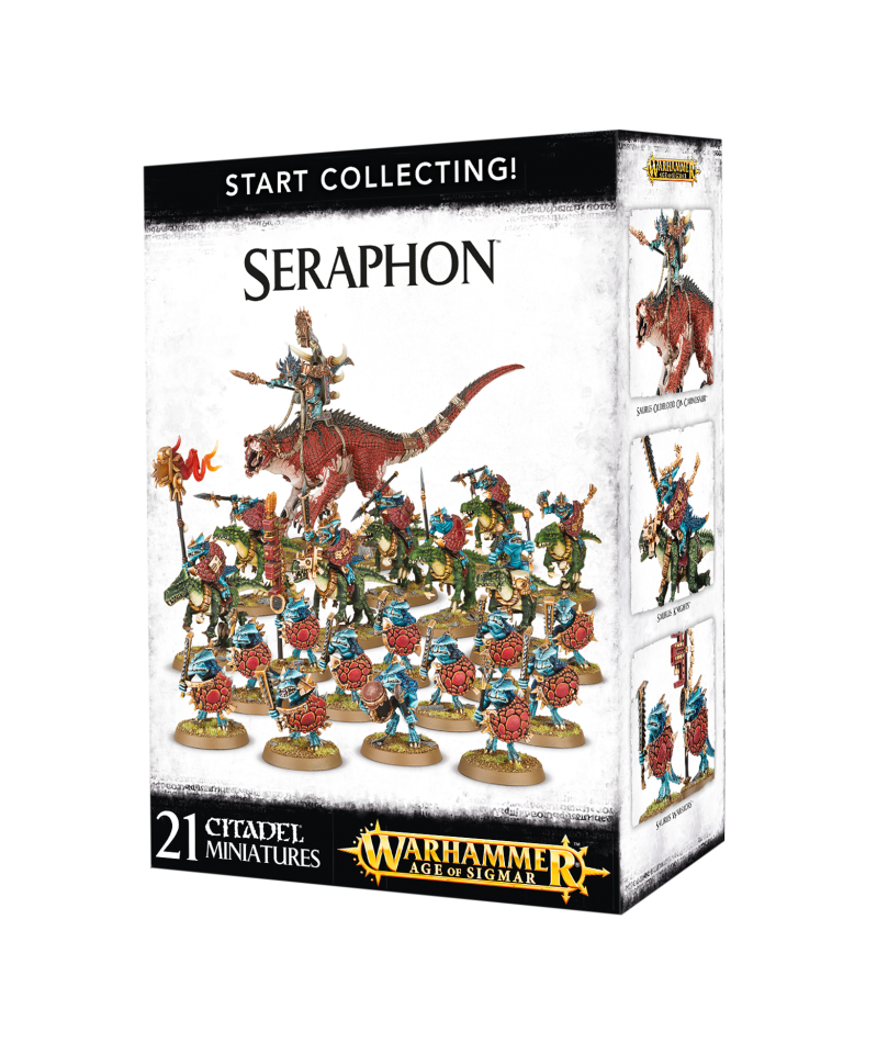 Warhammer Age of Sigmar - Start Collecting! Seraphon (70-88)