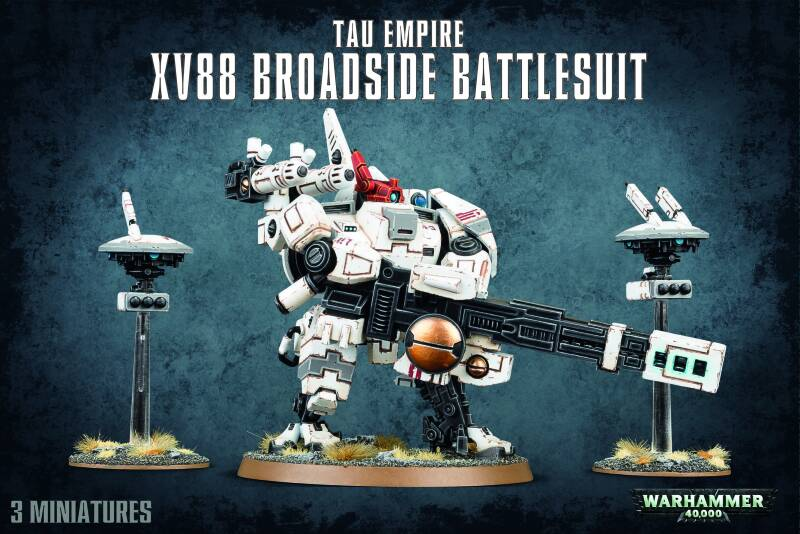 Warhammer 40K - Tau Empire - XV88 Broadside Battlesuit (56-15)
