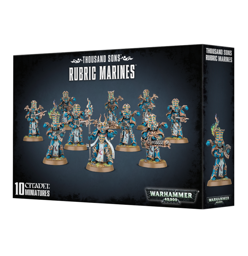 Warhammer 40K - Thousand Sons Rubric Marines 43-35
