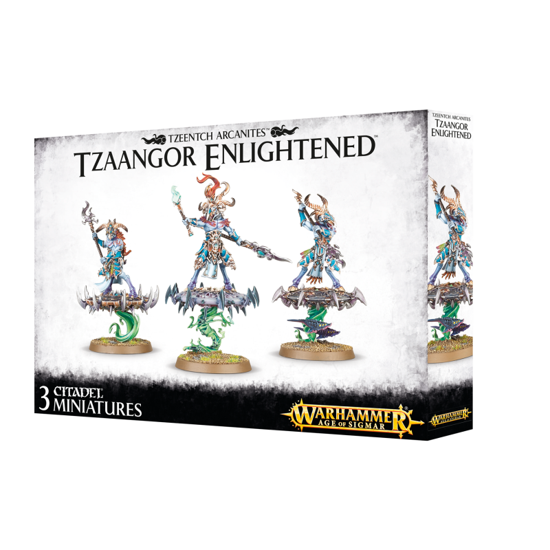 Warhammer Age of Sigmar -Tzeentech Arcanites - Tzaangor Enlightened (83-74)