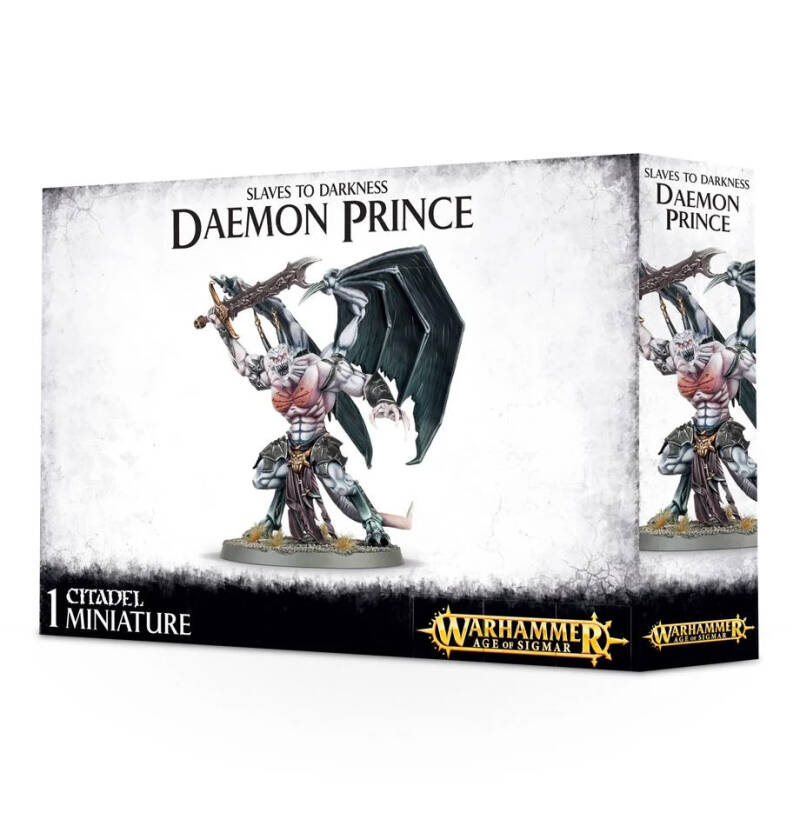Warhammer Age of Sigmar - Slaves of Darkness - Deamon Prince (83-23)