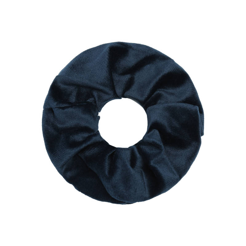Scrunchie winter chai - blauw