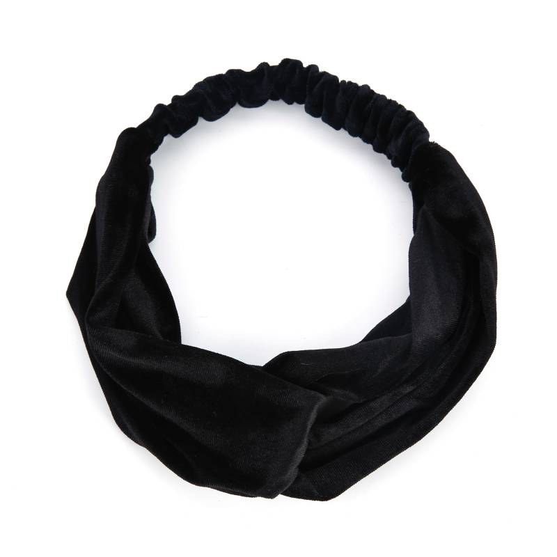 Haarband velvet black