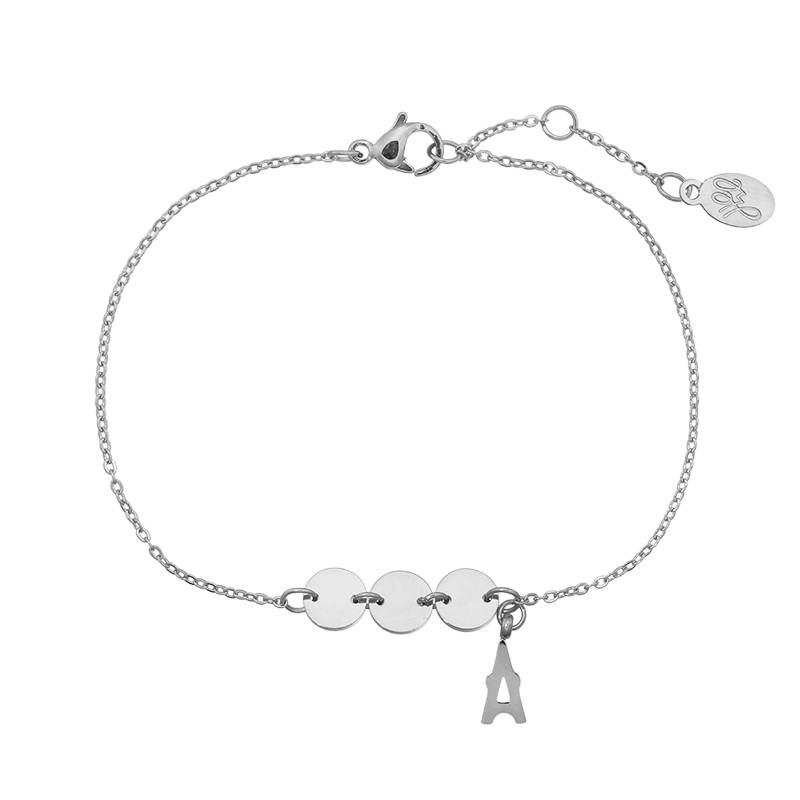 Armband lovely Paris - zilver