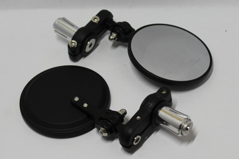 Rounded Bar End Mirrors