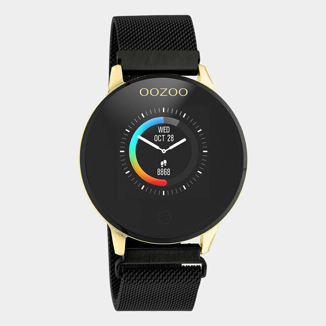 OOZOO SMARTWATCH Goud/Black