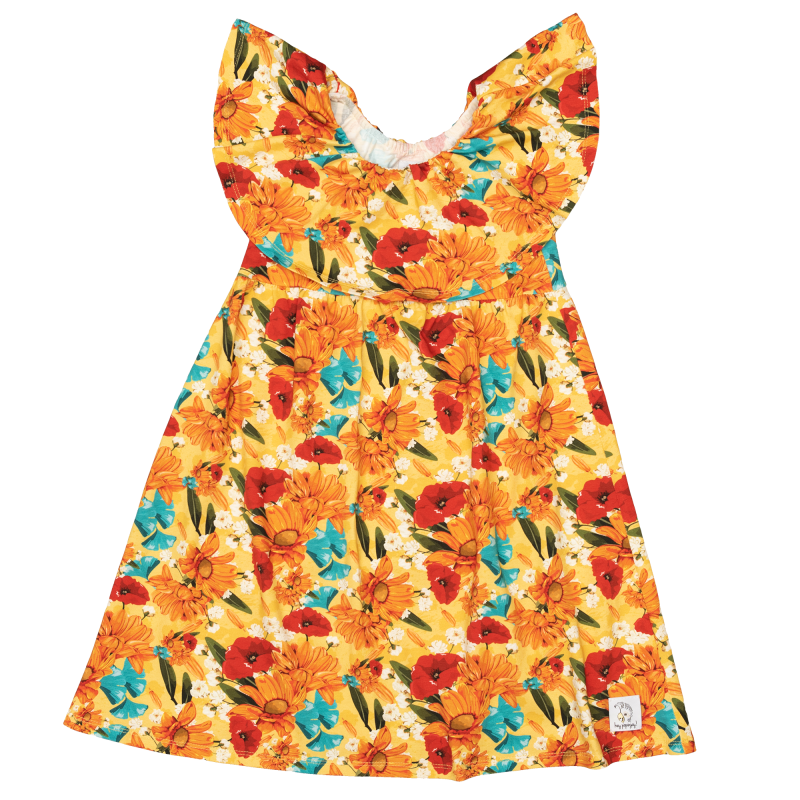Dress Yellow Meadow - Hey Popinjay®