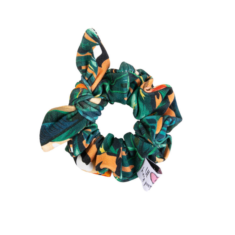 Mini scrunchie jungle  - Hey Popinjay®