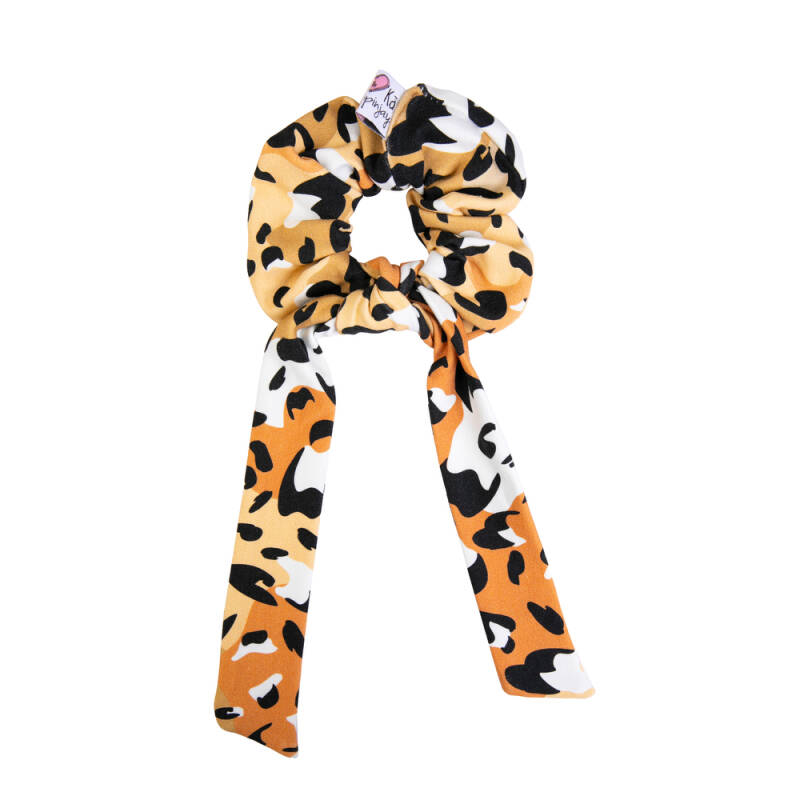 Scrunchie with tail spots - Hey Popinjay®