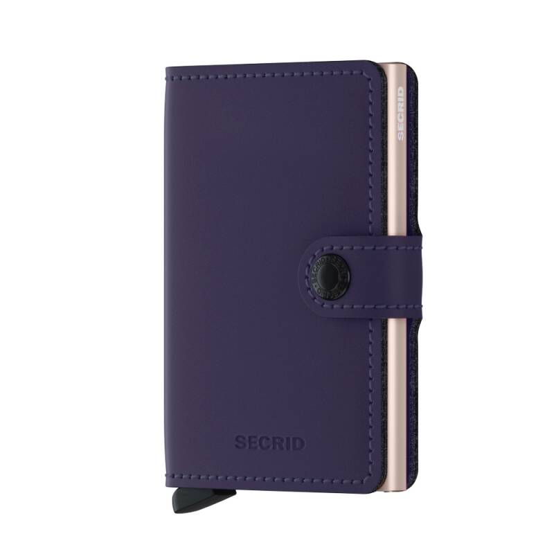Miniwallet Matte Purple Rose
