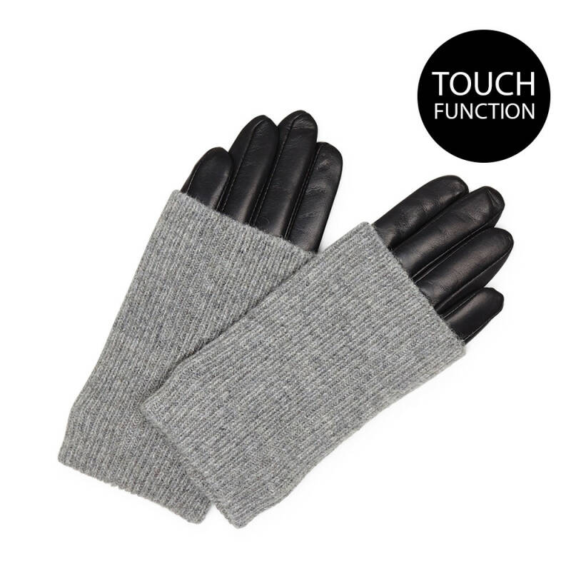 GLOVE Black w/ Grey