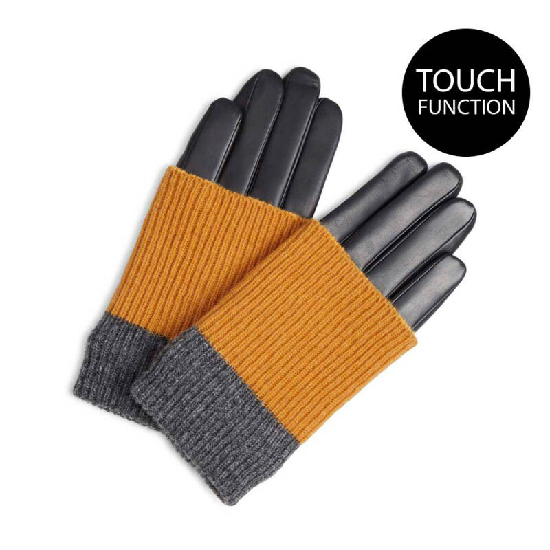 GLOVE Black w/ Amber, Grey