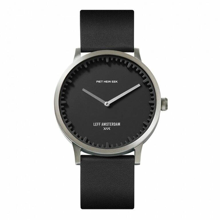 PIET HEIN EEK watch 40 mm steel/black
