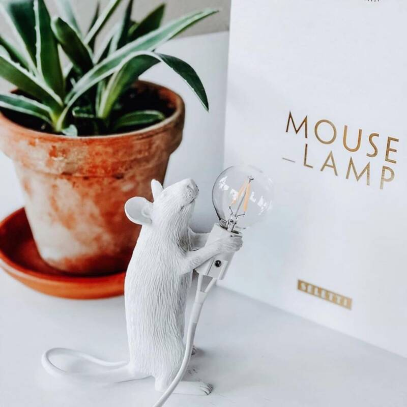 Mouse lamp STANDING, white