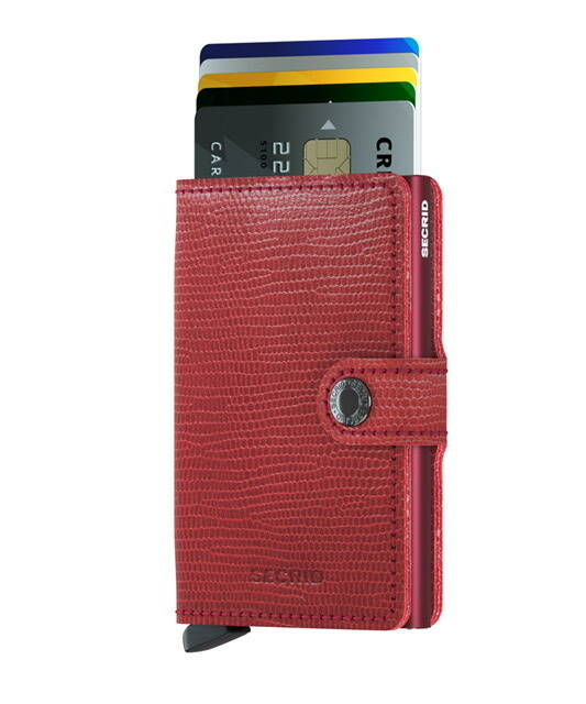 Miniwallet Rango Red-Bordeaux