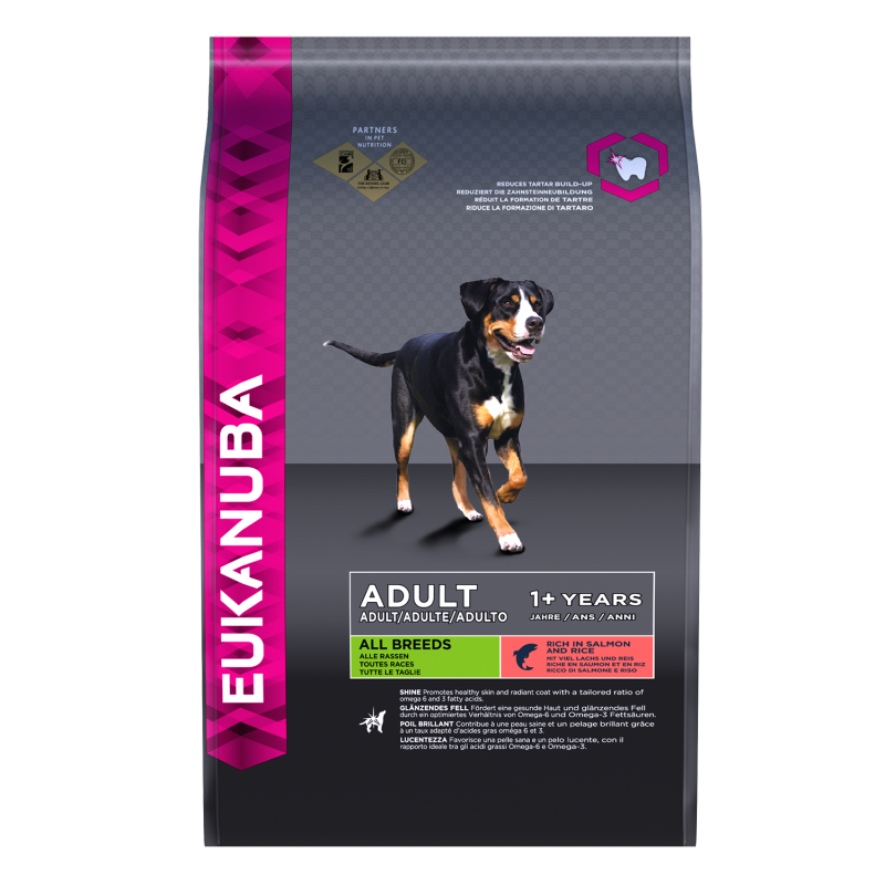 Eukanuba Dog Adult All Breed - Zalm & Rijst
