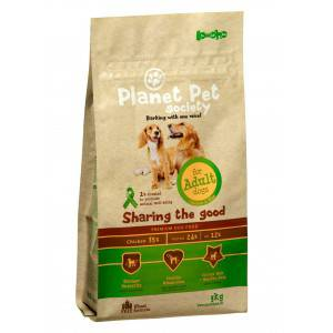 Planet Pet Dog Adult - Kip & Rijst