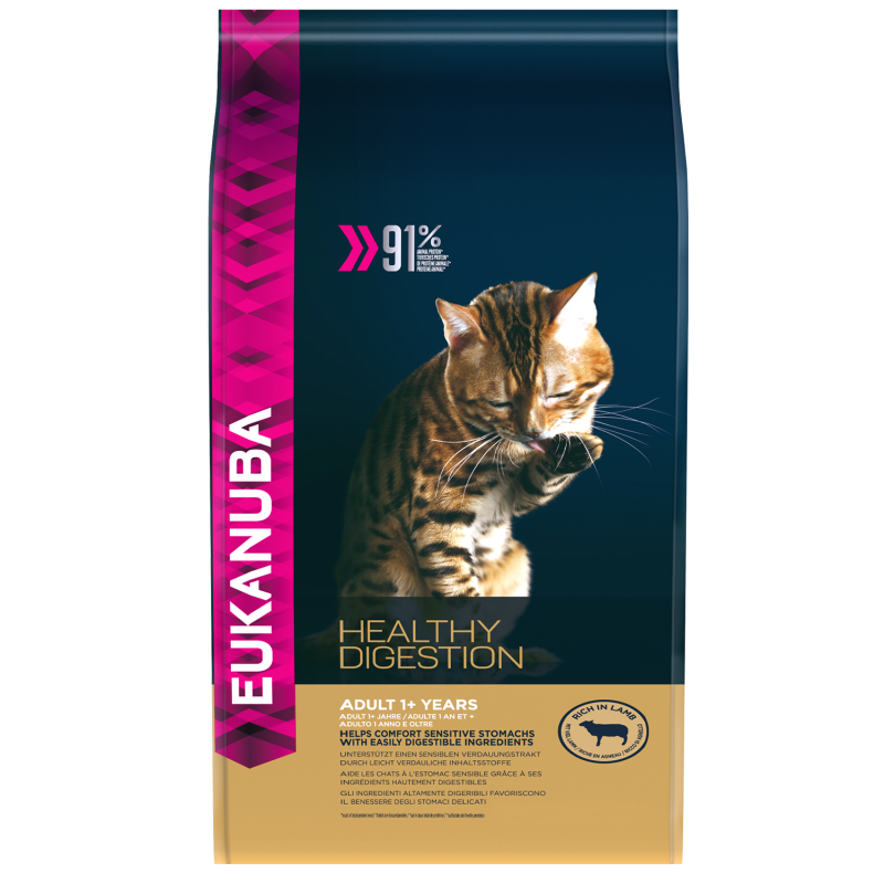 Eukanuba Kat Healthy Digestion - Lamsvlees & Lever