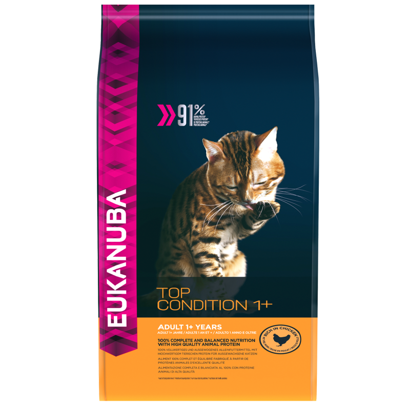 Eukanuba Kat Top condition 1+ - Kip/Kippenlever