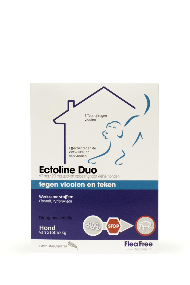 Ectoline Duo 20-40 kg. - 2 pip.