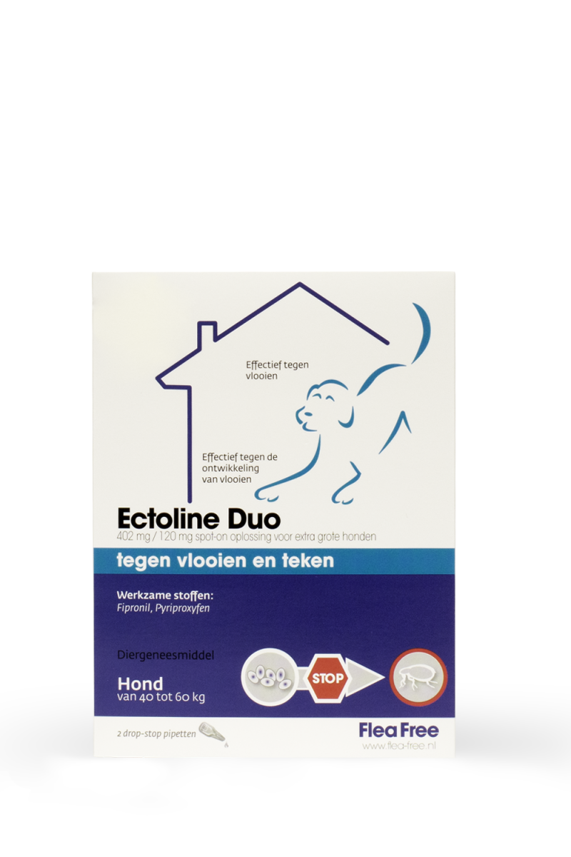 Ectoline Duo 40-60 kg. - 2 pip.