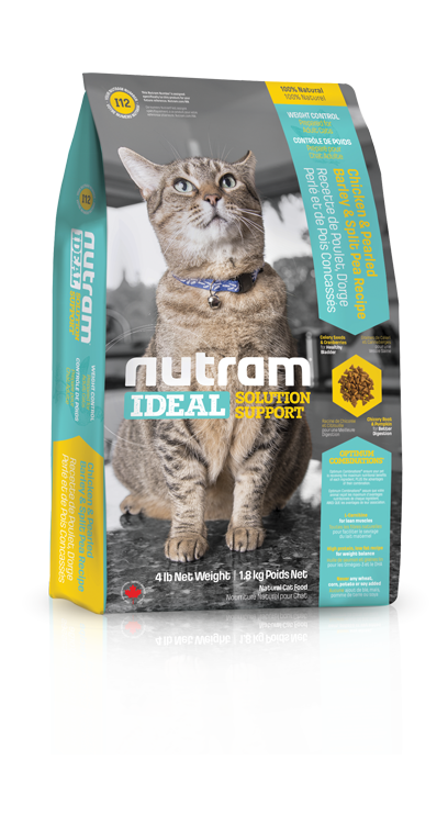 Nutram Kat Adult Weight I12 - Kip - IDEAL