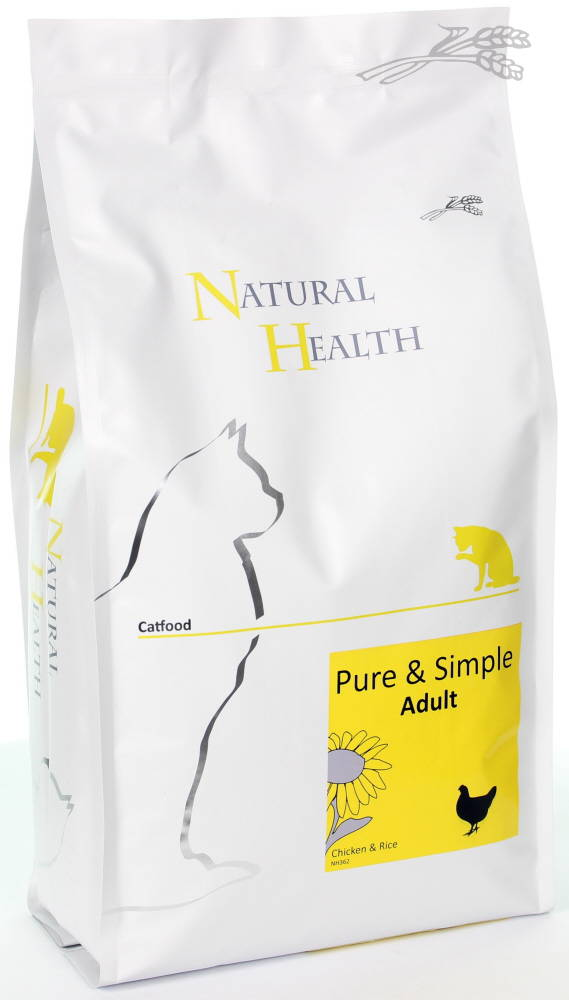 Natural Adult Catfood - Kip & Rijst