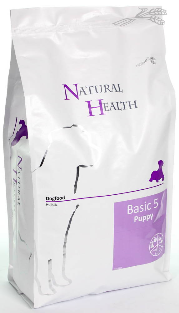 Natural Health Dog Basic 5 Puppy  - Schijf van 5