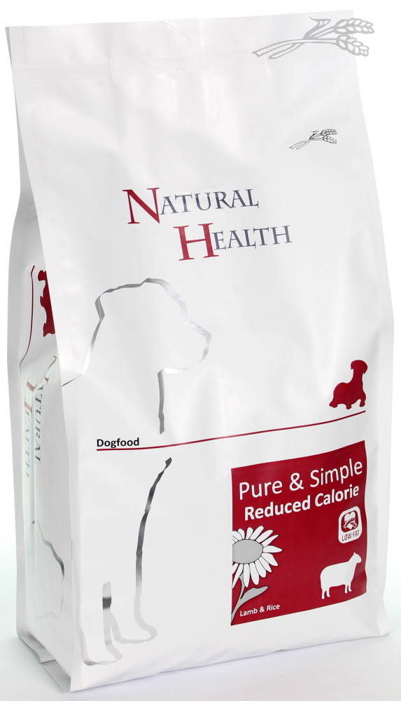 Natural Health Dog Adult Lam & Rijst Reduced Calorie