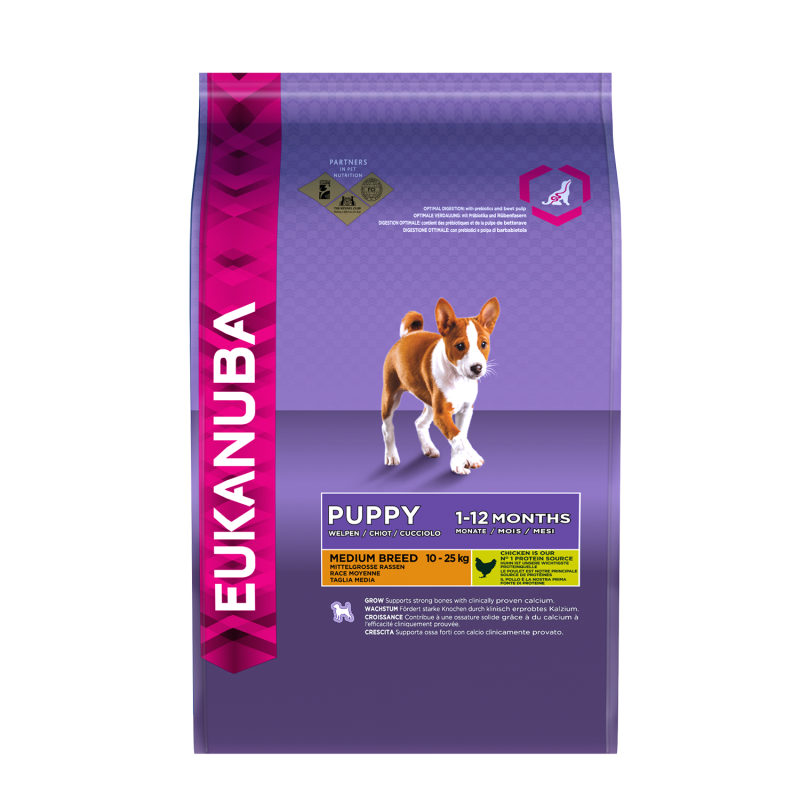Eukanuba Puppy Medium Breed - Kip