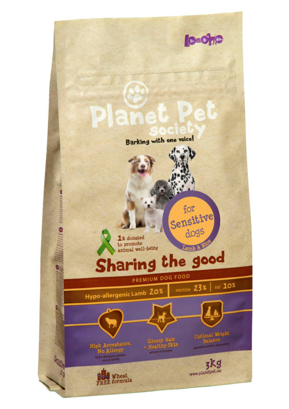 Planet Pet Dog Adult Sensitive - Lam & Rijst