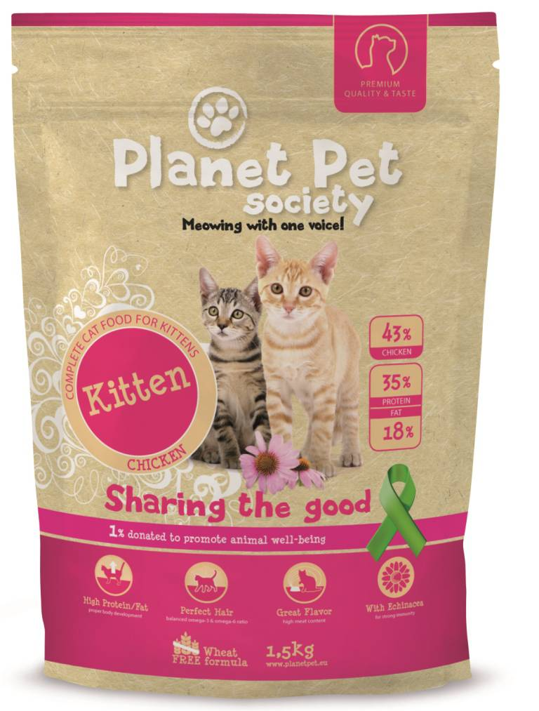 Planet Pet Kitten - 43% Kip