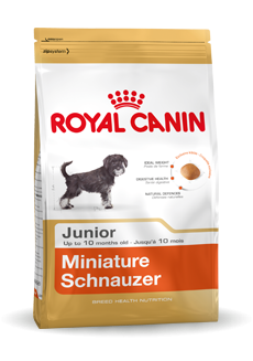 Royal Canin Mini Schnauzer Junior - 1,5 kg.