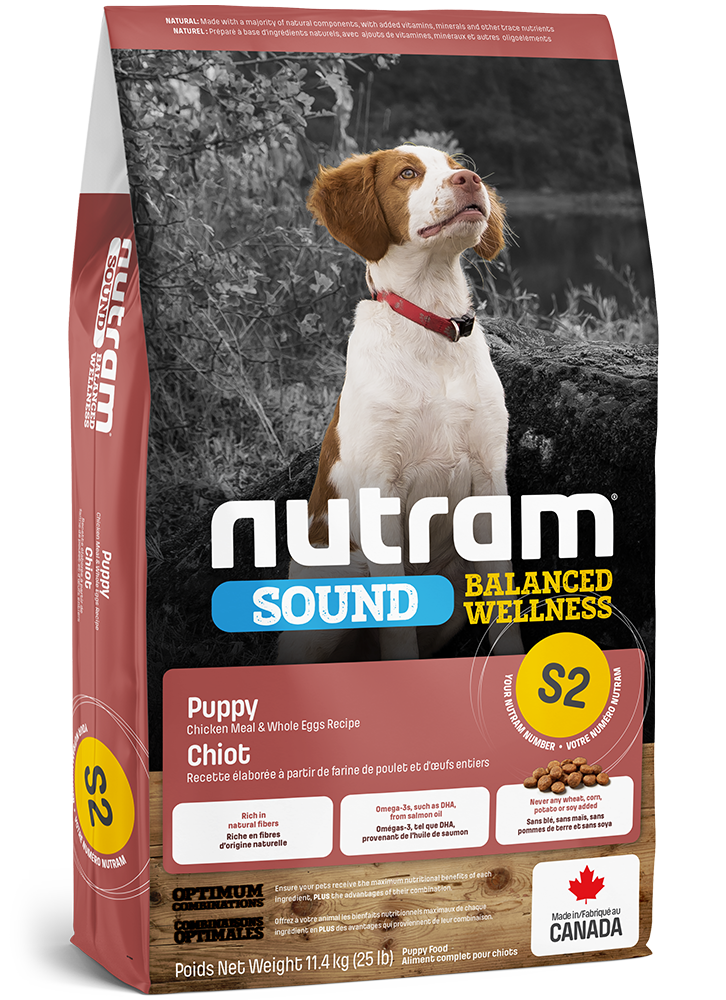 Nutram Puppy S2 - Kip - SOUND
