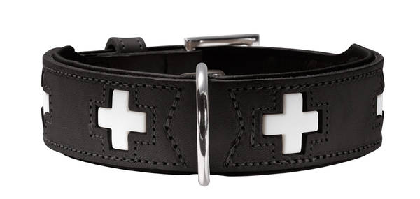 Hunter Halsband Swiss Zwart