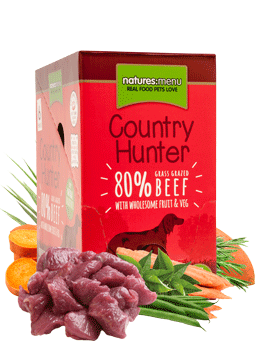 NM. Dog Country Hunter Pouche - Beef - 6x 150gr.