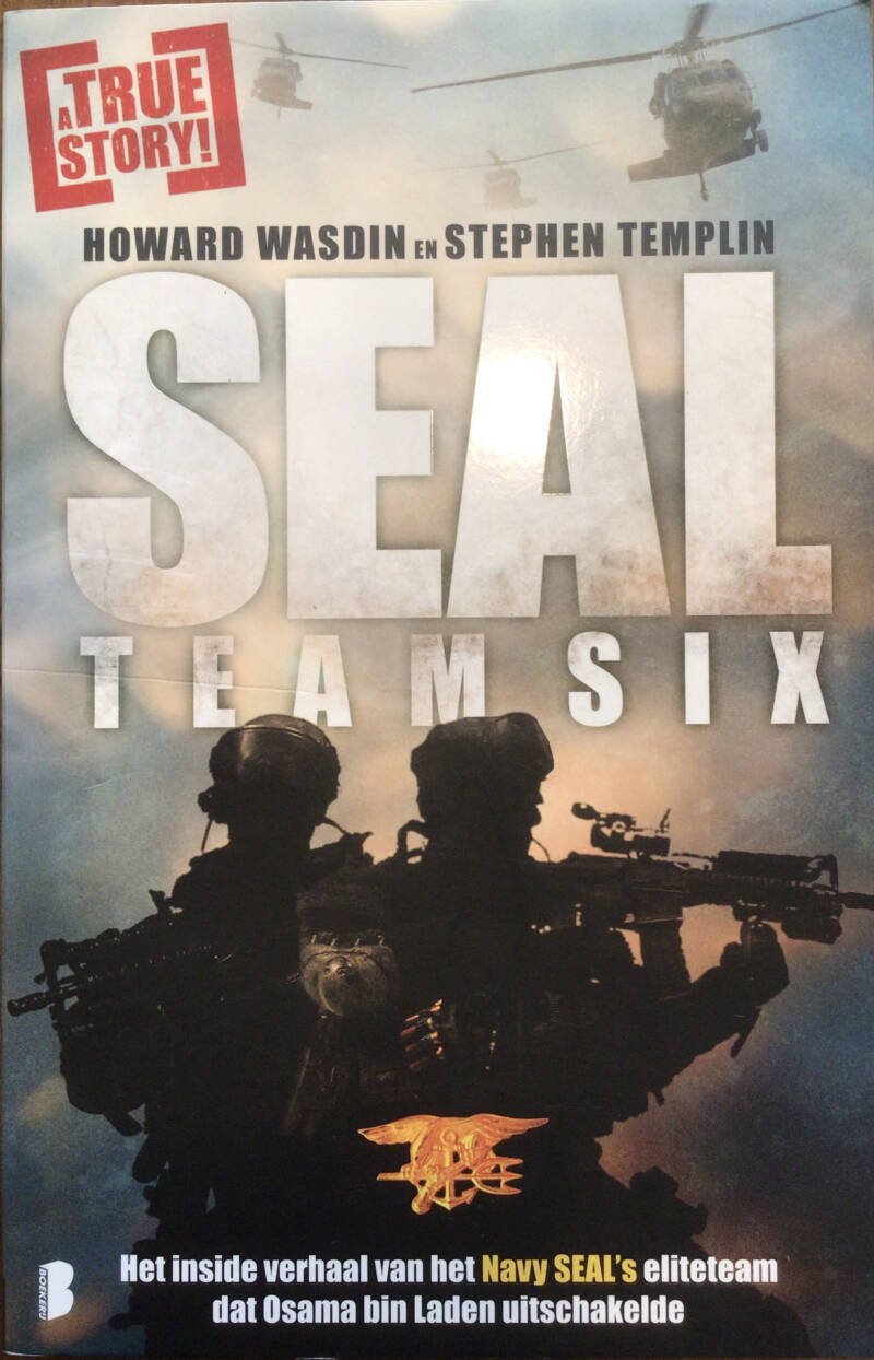 Seal team Six - Howard Wasdin en Stephan Templin