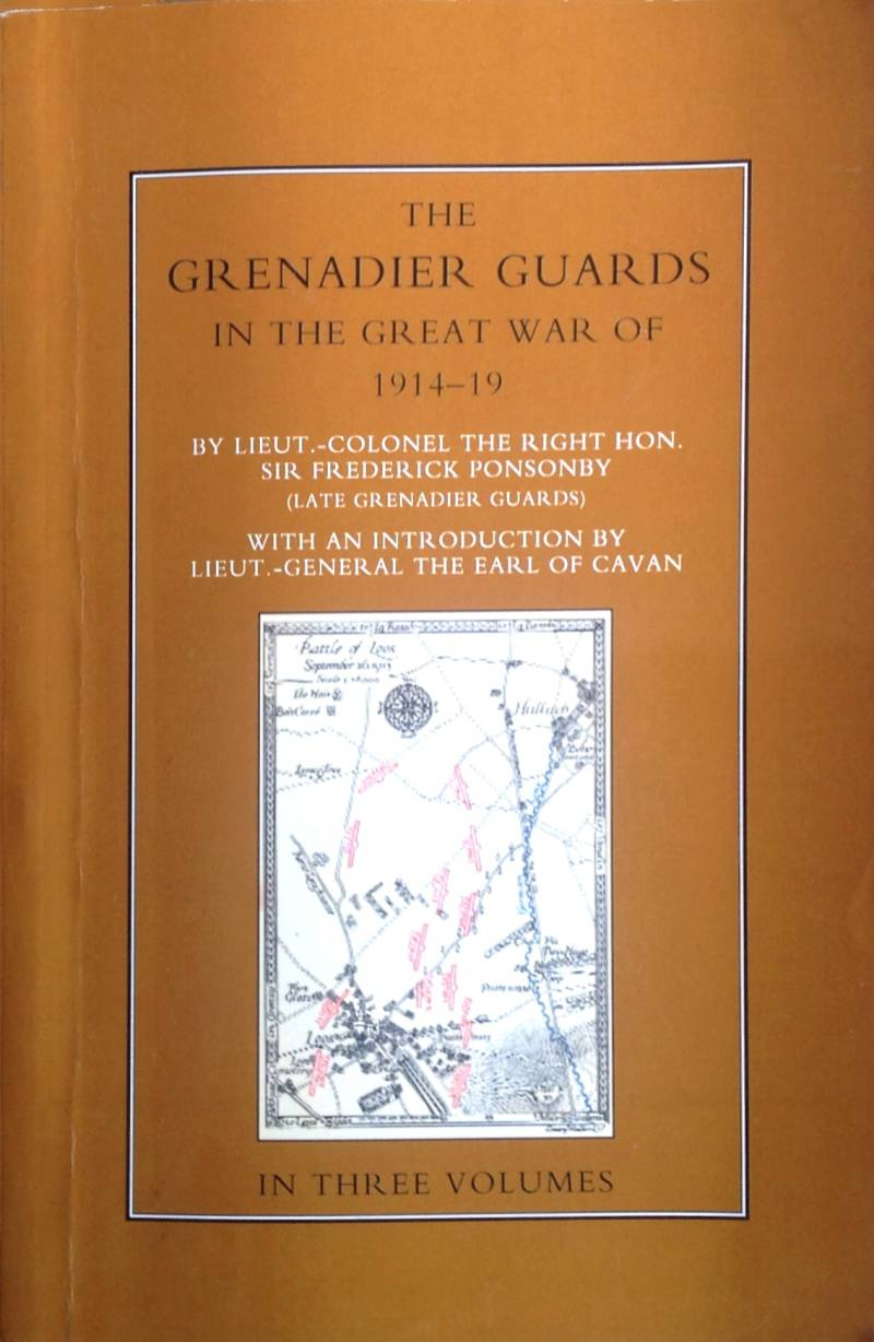 The grenadier guards in the great warnof 1914-19