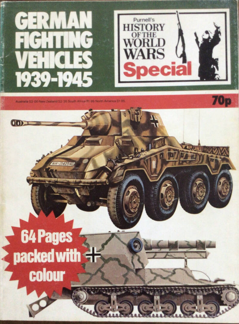 German Fighting Vehicles 1939-1945 - Peter Chamberlain, Chris Ellis and John Batchelor