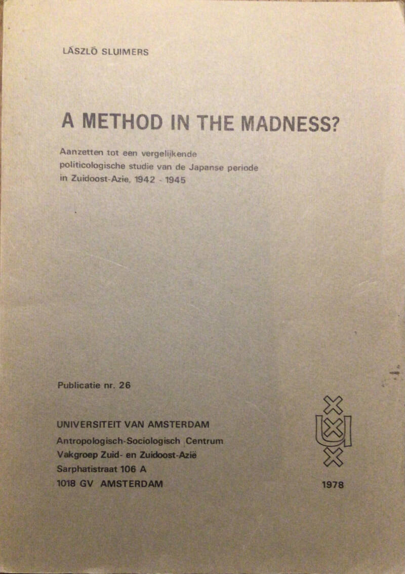 A method in the madness? - Lázló Sluimers