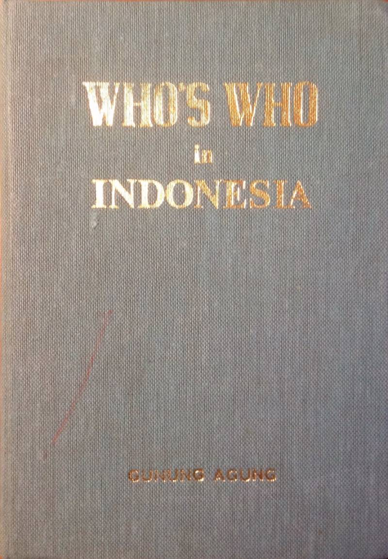 Who's who in Indonesia - O.G. Roeder