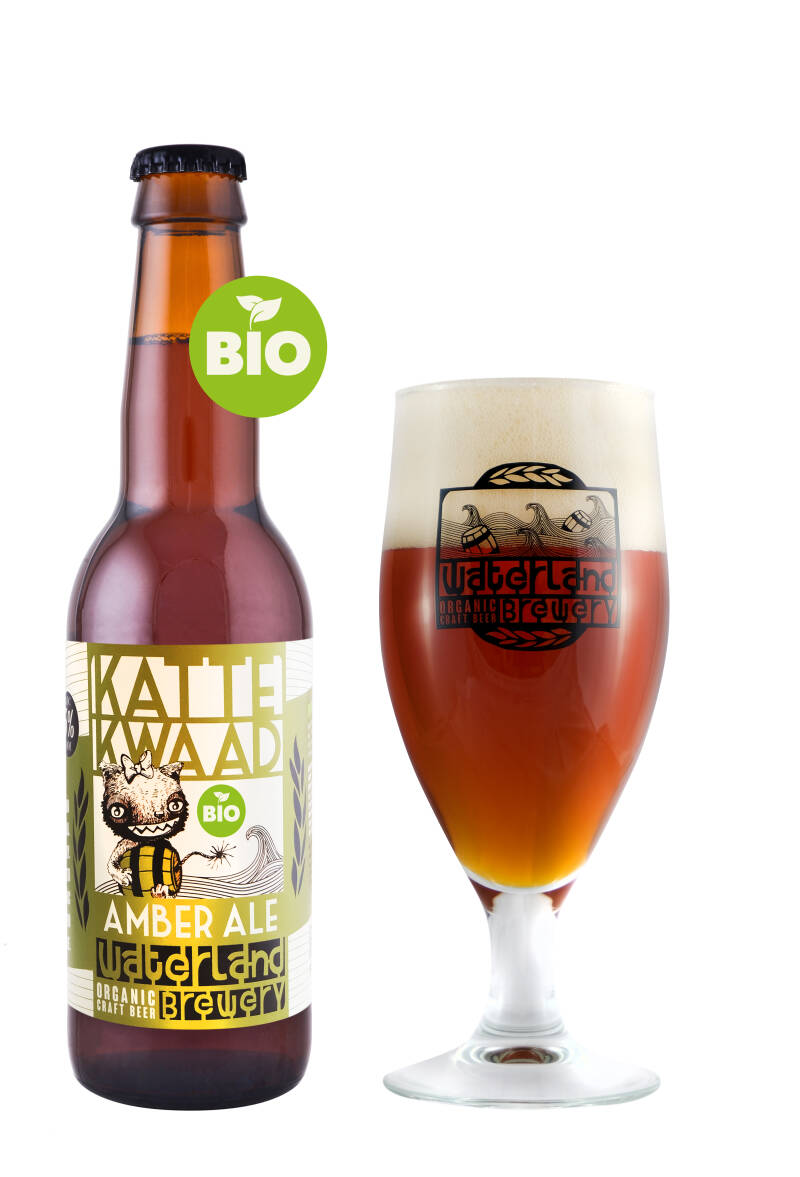Kattekwaad - Amber ale willow infused 6% - 33CL